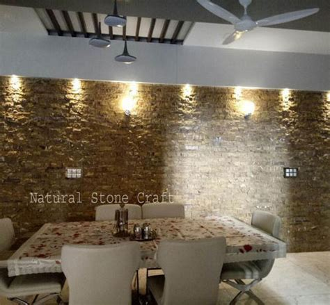 brown wall cladding tiles size    mm rs