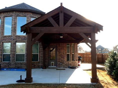 cedar patio cover denton tx denton pergolas and