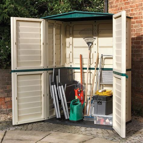 plastic outdoor storage sheds plastic garden sheds reviewed lean green home