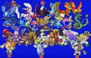 All Legendary Pokemon
