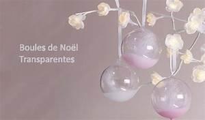 Boule Noel Transparente : diy boules de no l transparentes d corer conseils supports d corer truffaut ~ Melissatoandfro.com Idées de Décoration