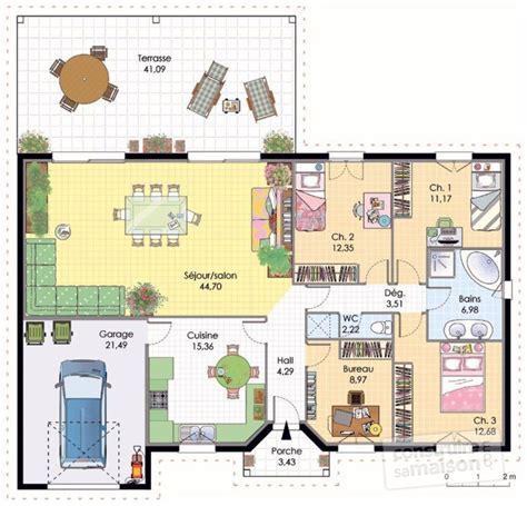 dessiner sa chambre en 3d dessiner sa maison en 3d 11 plan maison plain pied 3