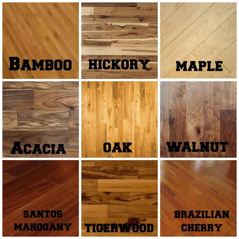 Types Of Flooring by Hardwood Flooring Types Wood Design Inspiration 23818