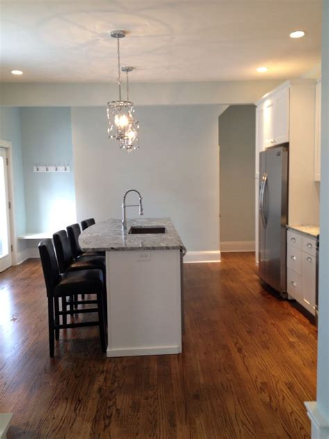 Ideas For Kitchen Colours - topsail wall paint color tinted at 150 by sherwin williams house flip reno ideas pinterest