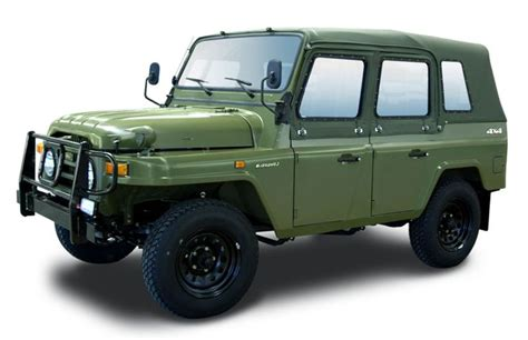 military jeep side beijing bj212 with canvas cover and side windows on 北京