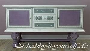 Möbel Streichen Vintage : so arbeitet ihr einen buffetschrank im shabby chic stil auf ~ Markanthonyermac.com Haus und Dekorationen
