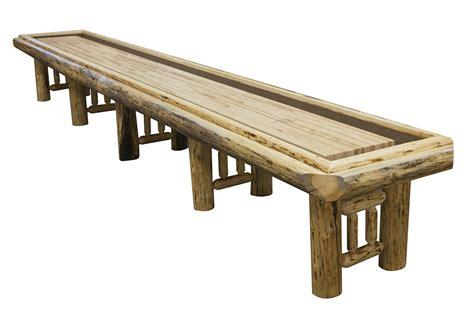 used outdoor shuffleboard table 22 foot montana shuffleboard table mcclure tables