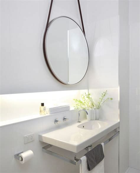 Hanging Mirror In Bathroom by 20 Of The Most Creative Bathroom Mirror Ideas Housely
