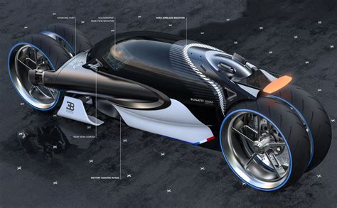 You Need A Motorcycle Licence To Drive This Bugatti