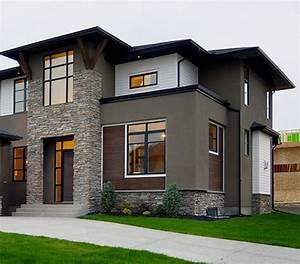 35, Stunning, Modern, Home, Exterior, Color, Ideas