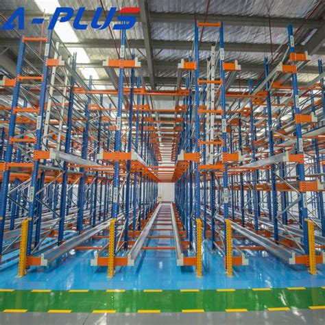 china fifo pallet radio shuttle racking system manufacturers suppliers factory   china