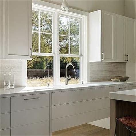 contemporary window valance flush front shaker cabinets design ideas