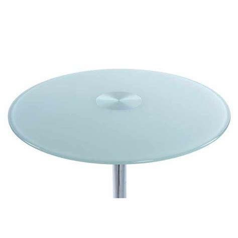 table de bar en verre table de bar en verre blanc