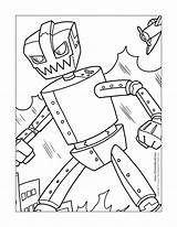 Robot Coloring Pages Robots Printable Steel Lego Real Thunderstorm 90s Print Printables Drawings Cartoons Getcolorings Popular Template 1159 41kb 1500px sketch template