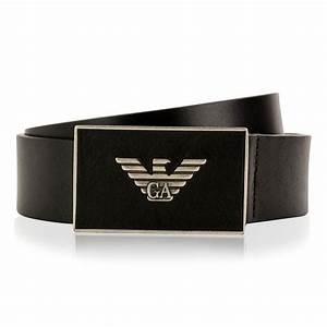 Emporio Armani | Logo Plate Belt