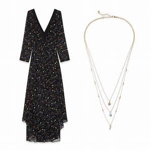 quel collier porter avec ma robe de soiree marie claire With robe de cocktail combiné avec collier rond swarovski