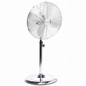 Ventilateur Silencieux Sur Pied : bestron dfs45s ventilateur sur pied retro ~ Dailycaller-alerts.com Idées de Décoration