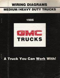 Gmc W4 Truck Fuse Diagrams : 1986 chevrolet gmc medium heavy duty truck wiring ~ A.2002-acura-tl-radio.info Haus und Dekorationen