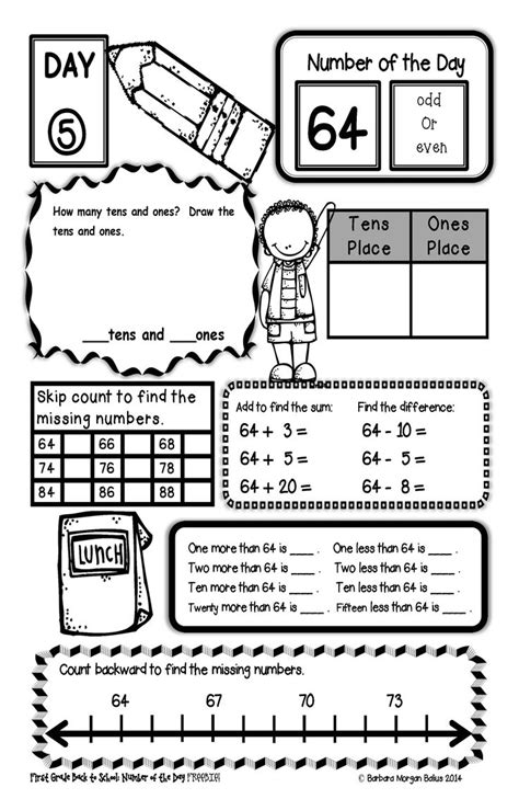 2nd grade math number sense worksheets 2nd grade math
