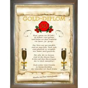 lustige sprüche zur goldenen hochzeit gold diplom zur goldenen hochzeit