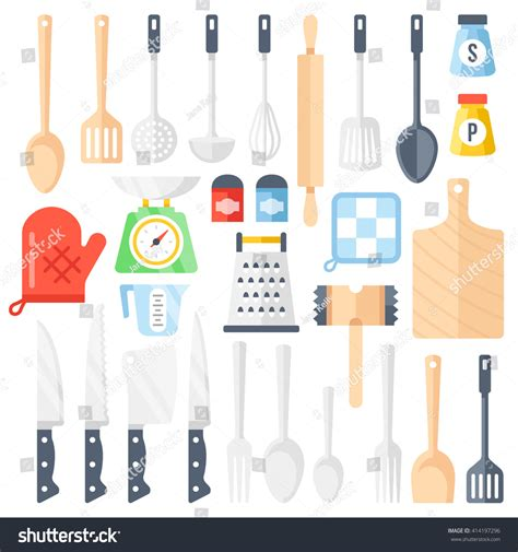 kitchen cooking accessories kitchen tools cooking equipment kitchen utensils stock 3412