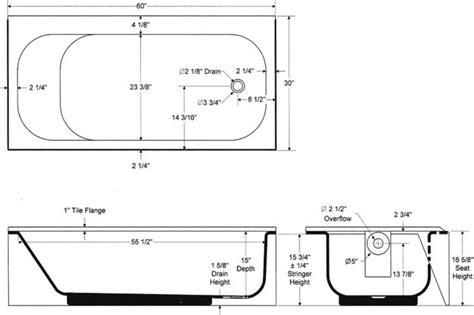 width of tub pin by develop on bathroom ideas bathtub dimensions