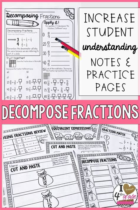 best 25 fractions worksheets ideas on pinterest math worksheets 4 kids math fractions