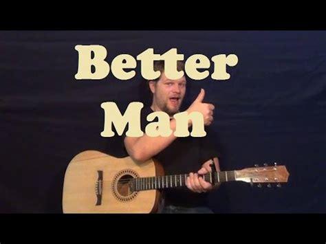 Better Man (pearl Jam) Easy Guitar Lesson Strum Chords How