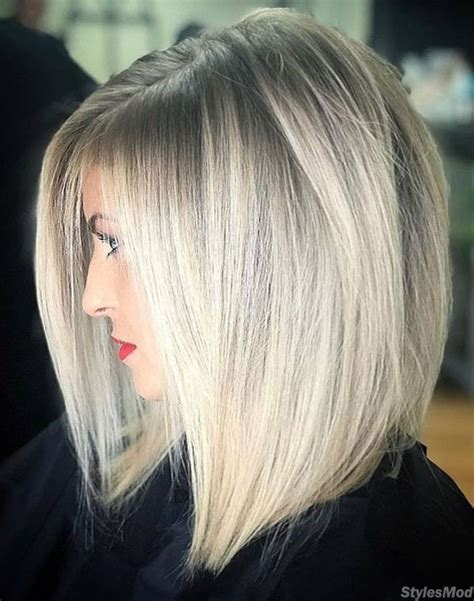 silver grey hair color ideas shades youll