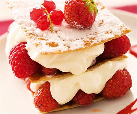 alternance cuisine mille feuille fraises recette facile gourmand