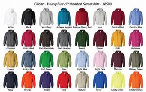 Gildan Color Chart 2018 Create Your Own Hoodie Tophand Apparel