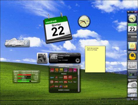 afficher meteo sur bureau windows 7 pc astuces personnaliser le bureau de windows avec des