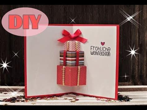 ideen weihnachtskarten basteln weihnachtskarten selber basteln 7 weihnachtsgeschenke card diy