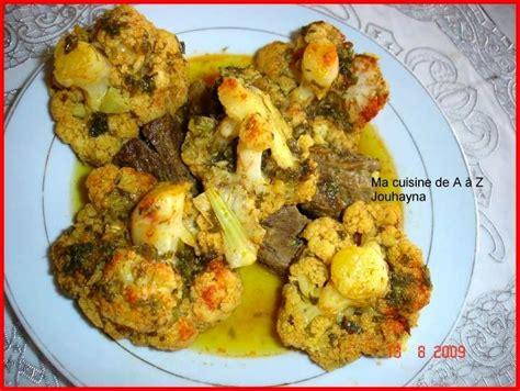 la cuisine de az tajine aux choux fleurs quot la cuisine de jouhayna de a à z quot