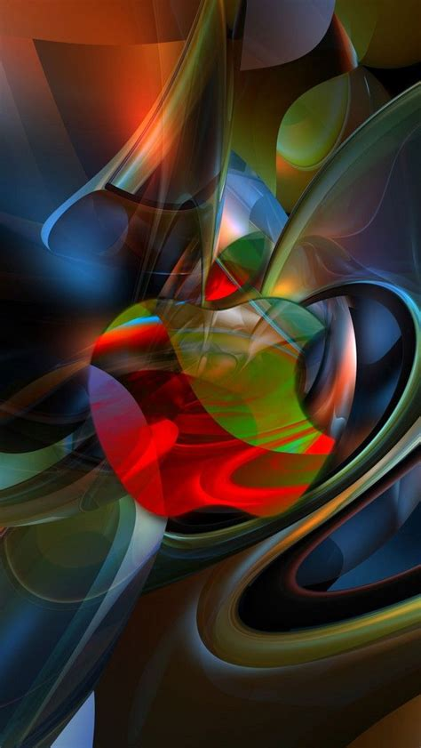 Abstract Computer Lock Screen Wallpaper by Abstract Apple 640 X 1136 Wallpapers 4592178