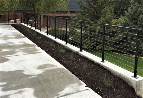 wire banister modern deck railings stainless steel cable deck railings