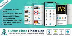 Flutter App Place Finder  Near Me Tourist Guide City Guide