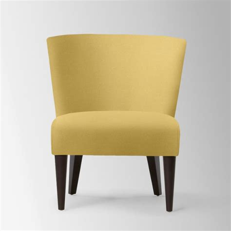Mustard Yellow Accent Chair by Yellow Furniture Finds For A Radiant Interior