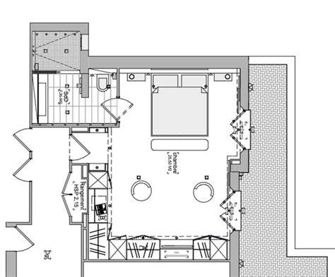 plan chambre parentale chambre parentale plan maison