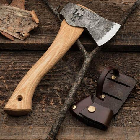 Custom Japanese Kitchen Knives - exceptional c hatchet by hoffman blacksmithing garrett wade