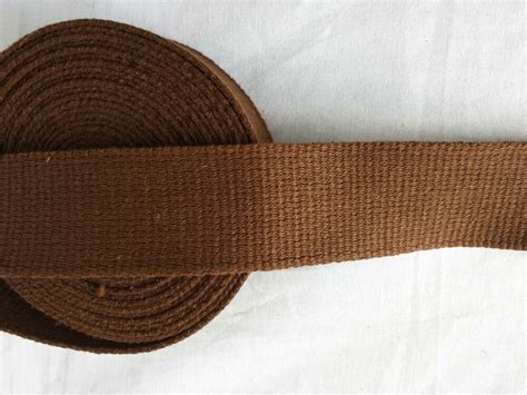 Upholstery Webbing Straps - 38 mm 1 5 quot cotton canvas webbing belting fabric bag