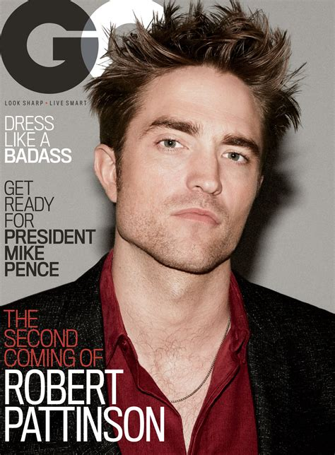 Robert Pattinson on GQ's Cover: On Escaping the Paparazzi ...