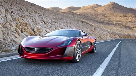 The Rimac Concept One Croatian Electric Supercar Promises