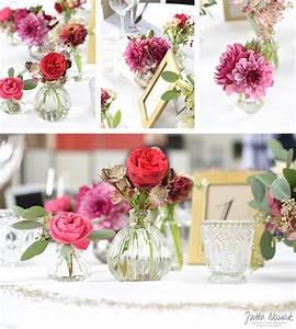 Tischdeko Hochzeit Rot : hochzeit individuelle blumendeko von floristin jutta nowak ~ Yasmunasinghe.com Haus und Dekorationen
