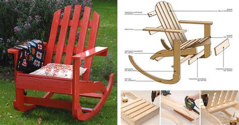 costruire una poltrona costruire una sedia a dondolo in legno bricoportale fai