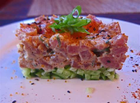 mmm yoso spicy tuna poke