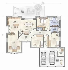 Bungalow Mit Garage Bauen : die besten 25 ideen zu grundriss bungalow auf pinterest ~ Lizthompson.info Haus und Dekorationen