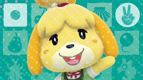 Isabelle Animal Crossing Wallpaper - animal crossing welcome amiibo revealed mini direct