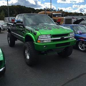 1995 Chevy S10 Custom Mix Of House Of Kolor Green Flames