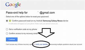 How to reset my Gmail password when I don't remember my ...